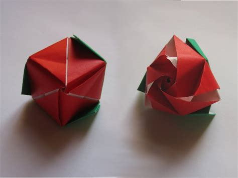 Origami Transforming Cube - magic cube valerie vann happy folding