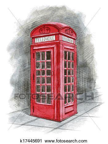 clipart anglaise cabine t 233 l 233 phonique dessin 233 par