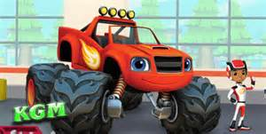 Monster truck blaze and the monster machines monster truck video games