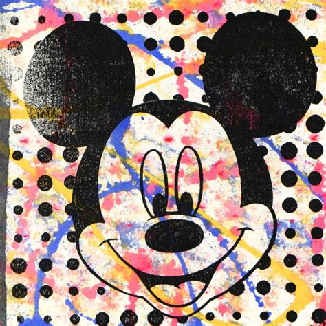 mickey mouse painting sports memorabilia auction pristine auction