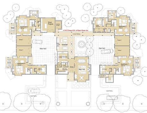 housing plan mcm design co housing manor plan