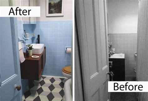 rental bathroom makeover a brooklyn rental makeover megan pflug designs