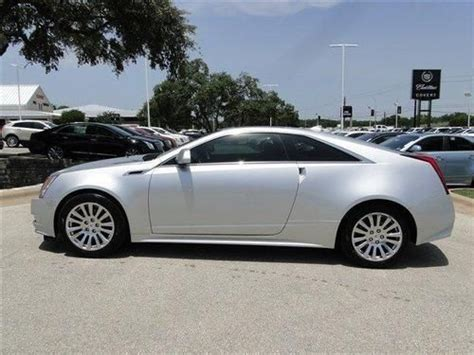 Cadillac Cts Warranty by Purchase Used 2012 Cadillac Cts Coupe Premium Factory