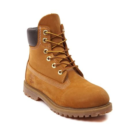timberland boots journeys womens timberland 6 premium boot wheat at journeys shoes
