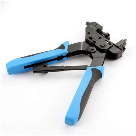 Tang Compression Bnc F For Rg59 Rg6 Rg 11 Type Hlt 548 compression plier crimper tool for f bnc rca connector rg59 rg6 5c coaxial cable ebay