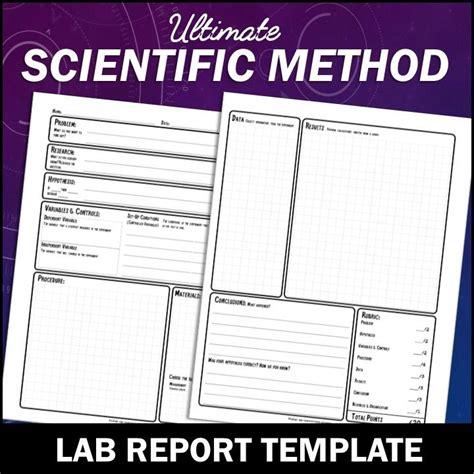 scientific method lab report template the 25 best lab report template ideas on scientific method worksheet 5th grade