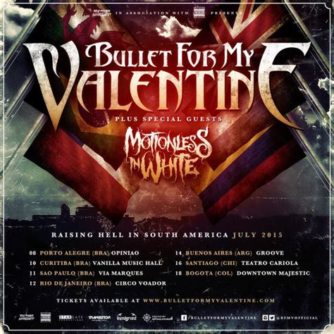 bullet for my tour new bullet for my lineup performs in