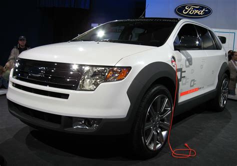 The Edge Hydrogen Suv by Ford Edge Hydrogen Electric In Hybrid Concept