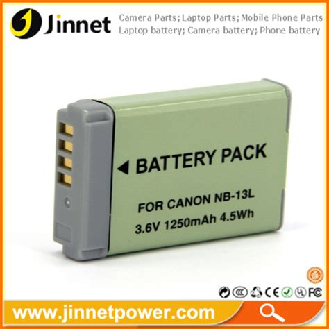 Battery Baterai Canon Nb 13l For Canon G7 X replacement digital battery nb 13l nb13l for canon powershot g7 x from china manufacturer