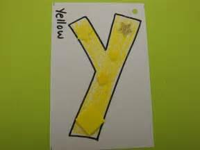 letter y crafts preschool and kindergarten