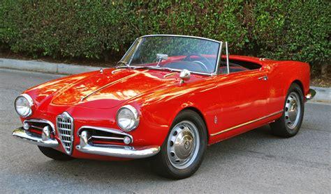 alfa romeo giulietta classic 1961 alfa romeo giulietta spider 1600cc 5 speed