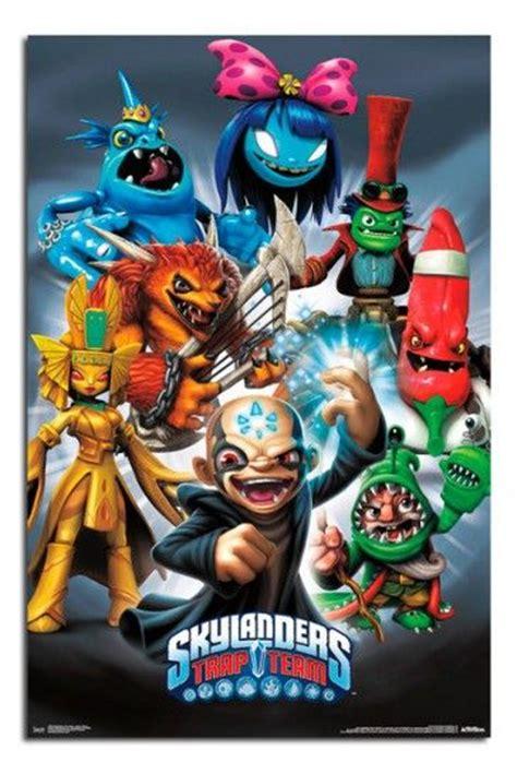 Kaos World Of Lego 14 skylanders trap team baddies poster and lego