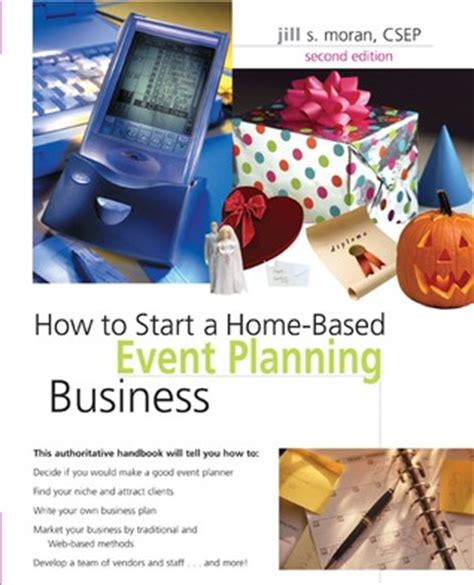 how to start a home based event planning business by