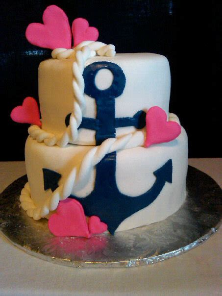 Nautical Bridal Shower Cakes by Bridal Shower Cakes Baking Company