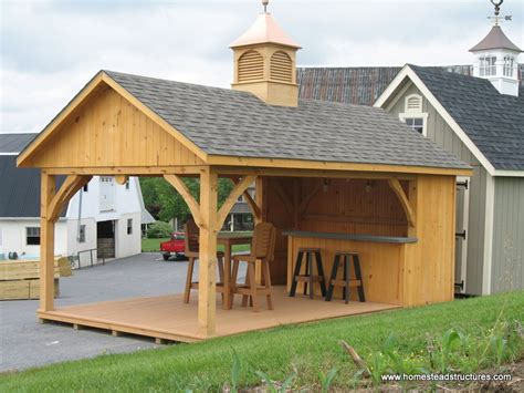 12 X 20 Avalon Pool House With Timber Frame Timber Frame Pool House Plans