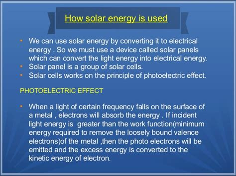 what is the purpose of solar panels better use of solar energy