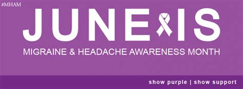 theme for education month 2014 migraine headache awareness month june 2014 msumsnhl