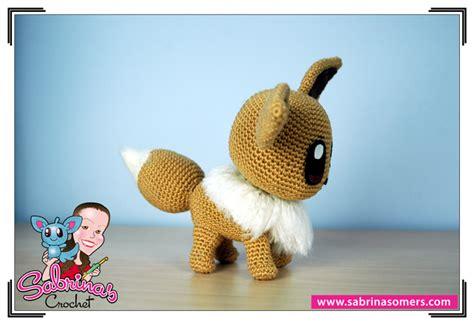 amigurumi eevee pattern sabrina s crochet eevee pokemon