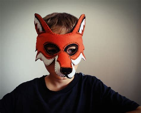 How To Make A Fox Mask Out Of Paper - what does the fox say make these masks for and