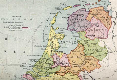netherlands map jpg index of genealogy history maps netherlands