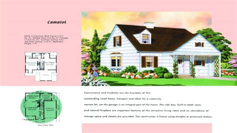 traditional cape cod house plans 1950s cape cod house