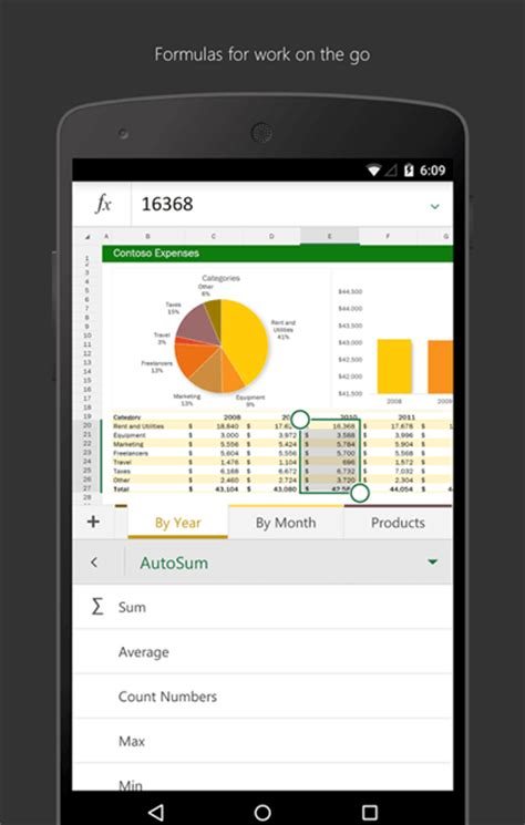 spreadsheet app for android 5 efficient spreadsheet apps for android