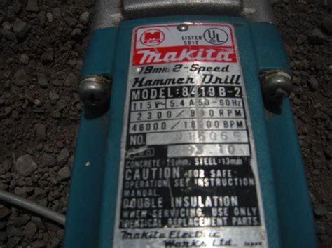 Makita 8419b 2 8419 B 2 Mesin Bor Hammer Hammer Drill 19mm makita 8419b 2 hammer drill