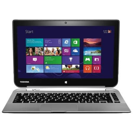 toshiba satellite w30dt a 100 amd 4gb 500gb 13 3 inch windows 8 1 convertible laptop in silver