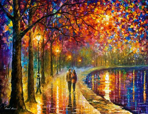 christmas representing leading artists who produce spirits by the lake palette knife oil painting on canvas