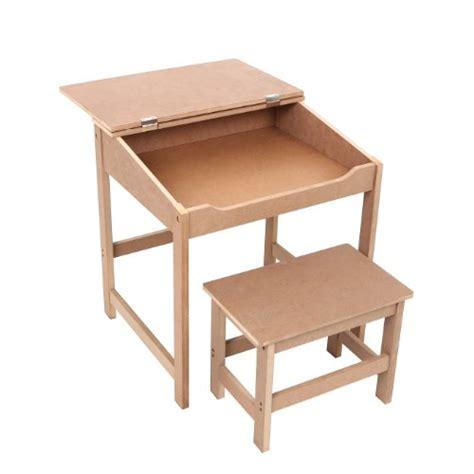 premier bureau enfant premier housewares bureau et banc pour enfant naturel