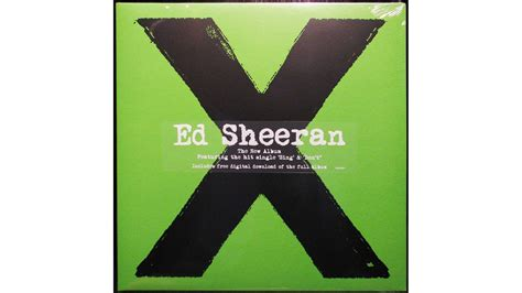 ed sheeran x album cover how to survive a pop music gig ed sheeran