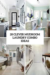 28 Clever Mudroom Laundry Combo Ideas Shelterness Designing Living Room Layout