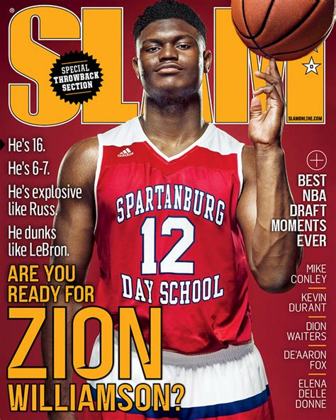class of 2018 prospect and hs sensation zion williamson