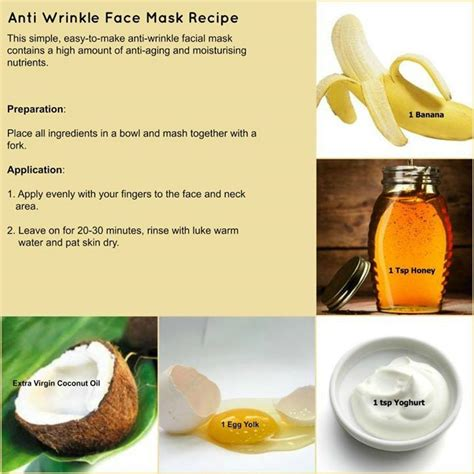 diy anti wrinkle mask myo anti wrinkle mask using ingredients in your kitchen anti