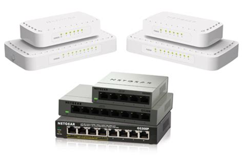 Small Home Network Switch Switches Business Netgear