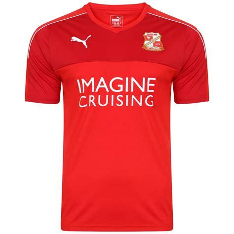 swindon town reveal new 2016 17 home shirt