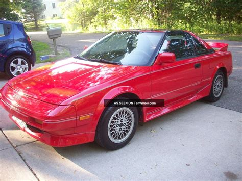 toyota 1988 mr2 1988 toyota mr2 supercharged coupe 2 door 1 6l 4agze