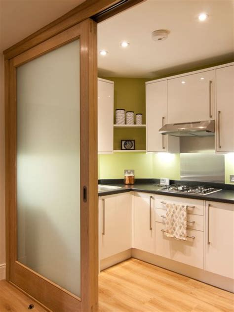 Kitchen Cabinets With Sliding Doors Sliding Door Kitchen Houzz