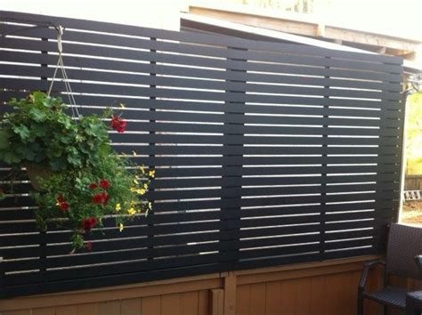 deck privacy screen how to find an ideal one for extra 184 best fences images on pinterest backyard ideas