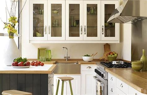 Kitchen Interior Designs For Small Spaces | kitchen cabinets for small spaces afreakatheart