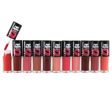 La Lipstick Lipgloss Original the lowest price all set of la colors pout lipgloss matte at pick6deals pick6deals