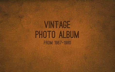 Vintage Photo Album Keynote Template By 83munkis Graphicriver Vintage Photo Album Template