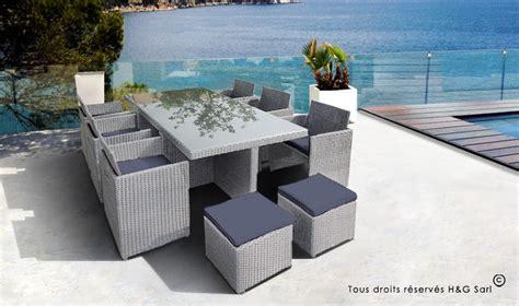 salon de jardin resine 10 places salon jardin resine grise fauteuils encastrables 10 places