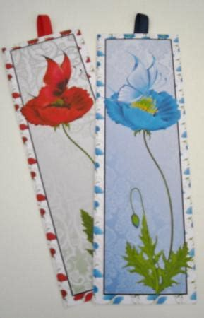printable poppy bookmark 4 poppy butterfly bookmarks cup422385 659 craftsuprint