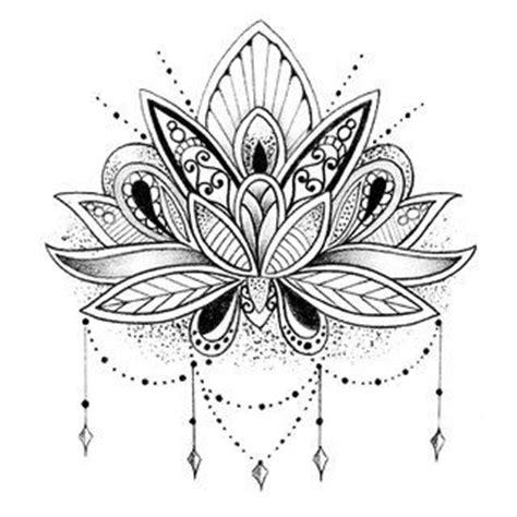 imagenes de flores hindu flor de loto tattoo pinterest