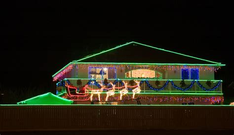 christmas rope lights on house xmaspin