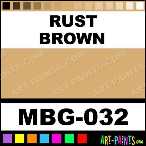 rust brown cone 6 ceramic paints mbg 032 rust brown paint rust brown color coyote cone 6