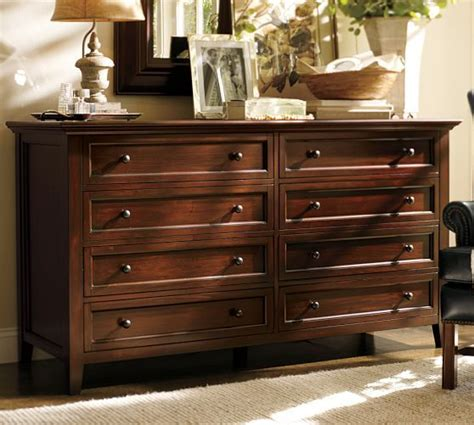 55 Inch Wide Dresser Hudson Wide Dresser Pottery Barn Bedroom