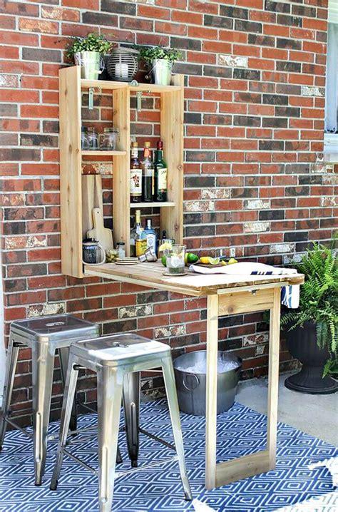 diy outdoor serving stations table cart bar diy