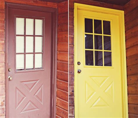 painting front door yellow best painting 2018